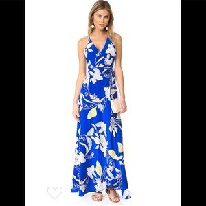 Yumi Kim rush hour wrap maxi dress S